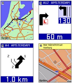 nav4allphonenavigation small Nav4All   software navigatie GPS gratuit pentru telefonul mobil