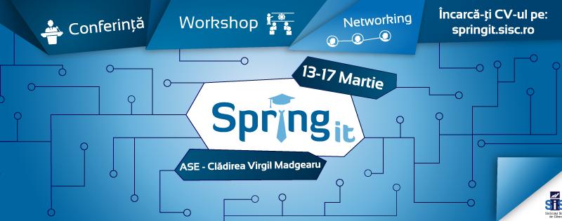SpringIT – un impuls anual pentru studenții din IT