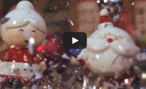 Omuleții din turtă dulce oferă un spectacol în slow motion