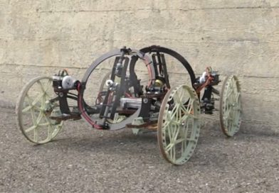 VertiGo – o mașinuță inventată de Disney Research – escaladează pereți!